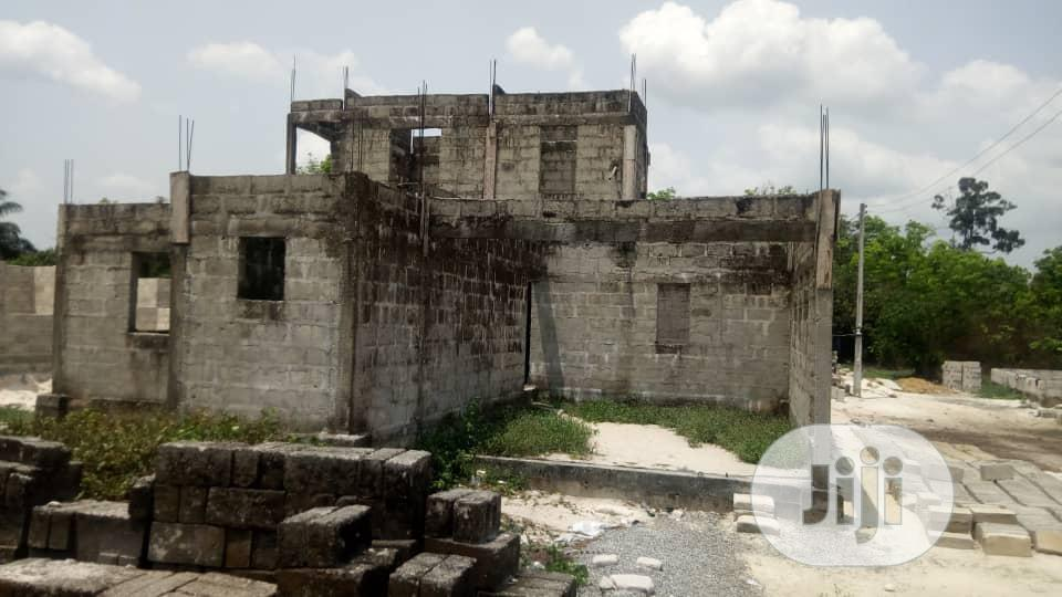 Uncompleted Bungalow For Sale At Ughelli, Delta State | Houses & Apartments For Sale for sale in Ugheli, Delta State, Nigeria