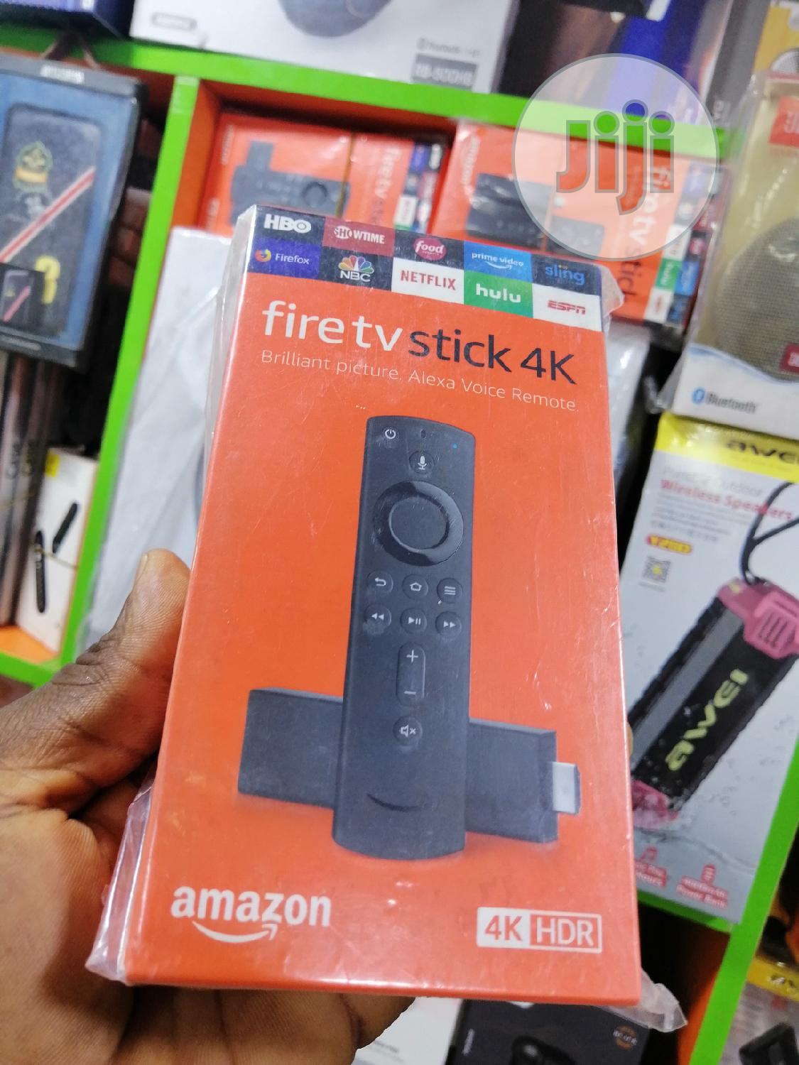 Fire Tv Stick 4k Amazon | Accessories & Supplies for Electronics for sale in Ikeja, Lagos State, Nigeria