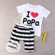 2pcs Papa's Love | Children's Clothing for sale in Lagos State, Amuwo-Odofin
