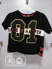 High Quality and Trending Kids Black Top | Children's Clothing for sale in Lagos State, Ojodu