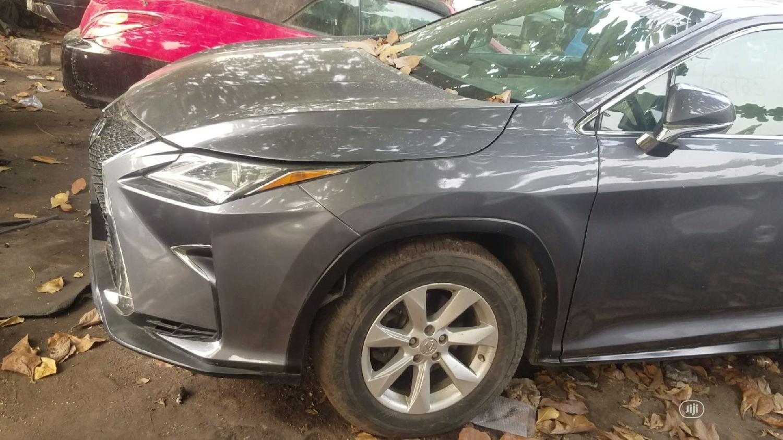 Lexus RX 2017 Gray