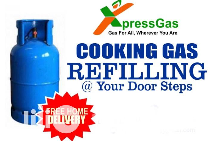 Cooking Gas Refilling Doorstep Delivery