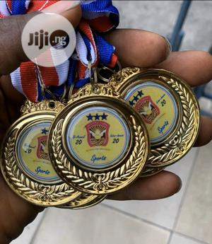 Sport Medal With Printing   Arts & Crafts for sale in Lagos State, Ojodu