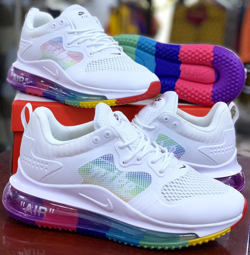 "Nike Airmax 720 OBJ ""Ghost White"