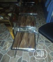 3in1 Set of Marble Side Stool | Furniture for sale in Lagos State, Ojo