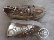 Girls Gold Wedge Sneaker | Children's Shoes for sale in Lagos State, Agboyi/Ketu