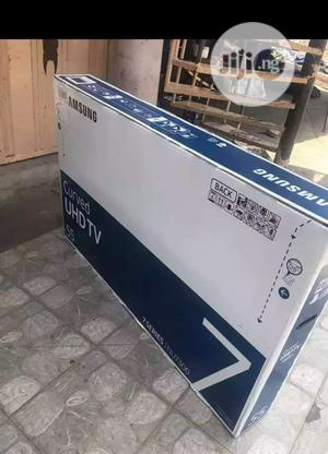 Samsung Curved TV 55 Inches | TV & DVD Equipment for sale in Lagos State, Lekki