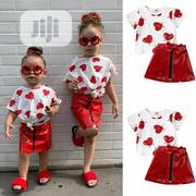 3pcs Outfit Skirt N Top | Children's Clothing for sale in Lagos State, Amuwo-Odofin