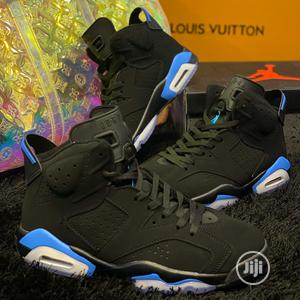 Air Jordan 6 UNC Silver Sneakers Available | Shoes for sale in Lagos State, Surulere