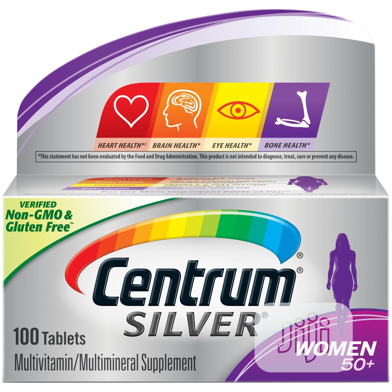 Archive: Centrum Silver Women's 50 Plus Multivitamin