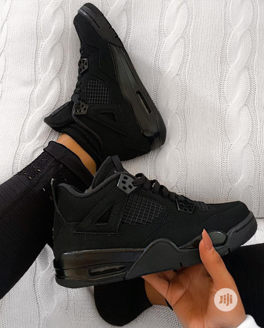 Black Cat Nike Jordan Sneaker For Men