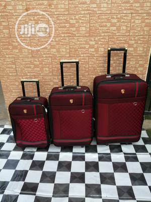 Red Gucci Travel Bags For Ladies 3 Sets   Bags for sale in Lagos State, Ikeja
