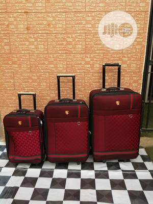 Travel Luggage Bags (3 Sets) of Ox Red Color | Bags for sale in Lagos State, Ikeja