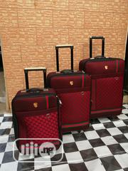 Travelling Bags For Boarding School Students (3 Sets) Red Color | Babies & Kids Accessories for sale in Lagos State, Ikeja