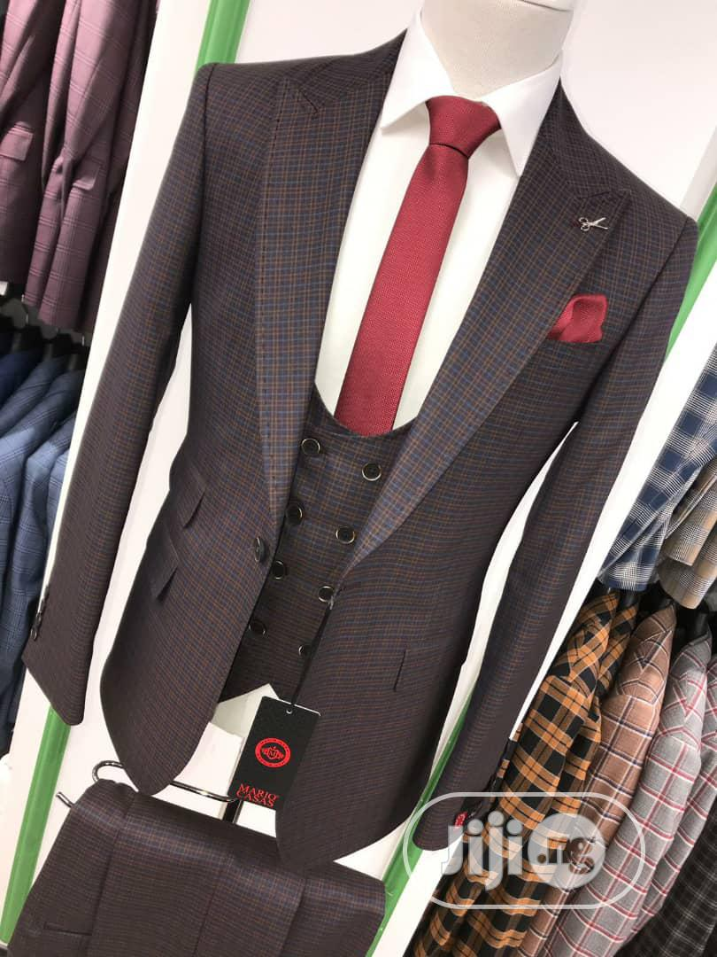 3piece Strip Turkey Men's Suits