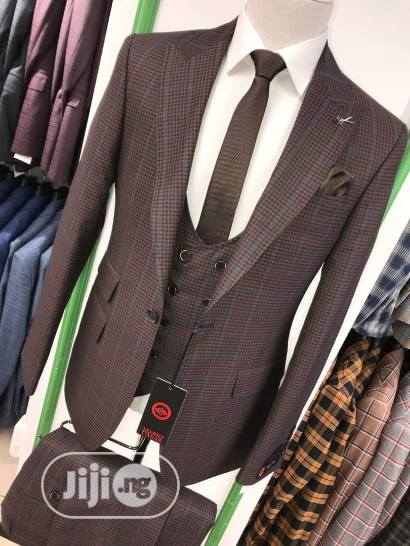 3piece Strip Turkey Men's Suits | Clothing for sale in Lagos Island, Lagos State, Nigeria