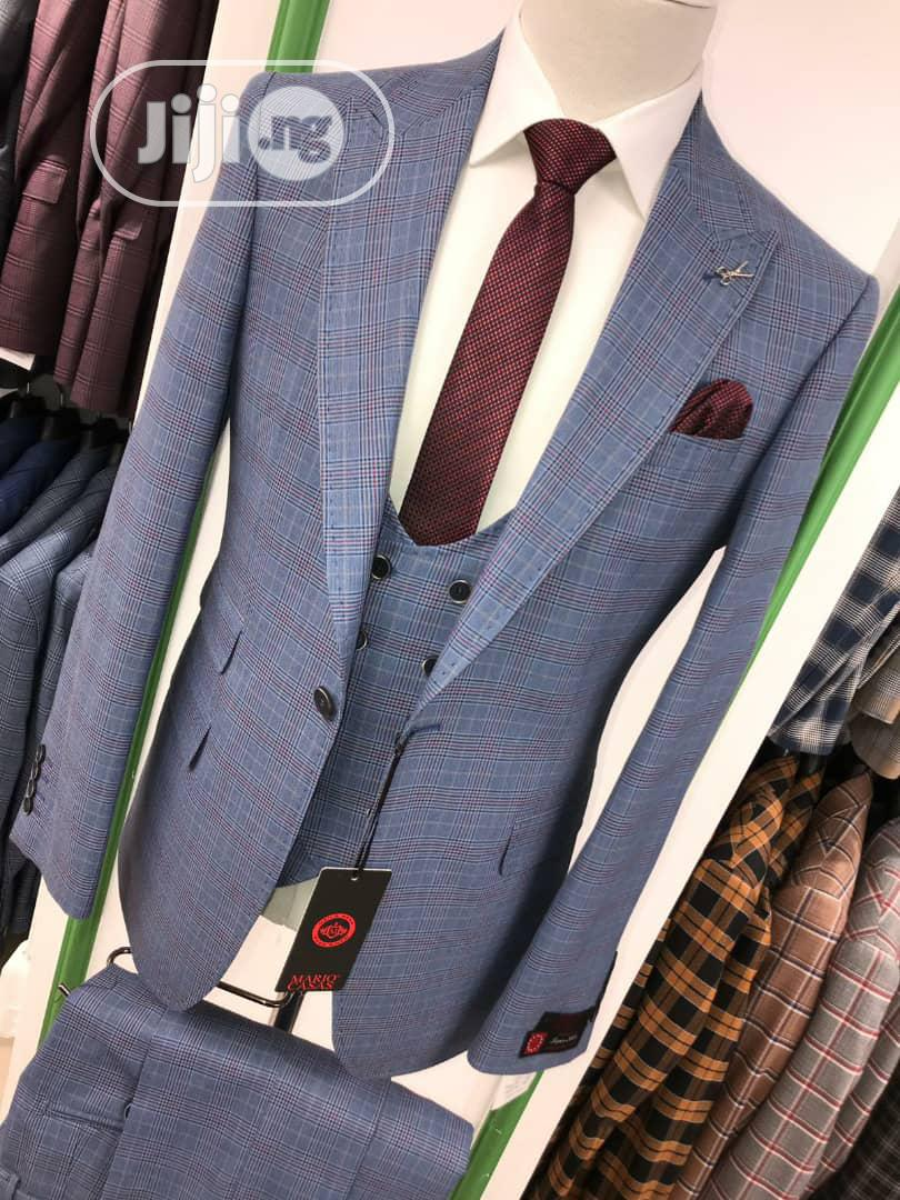 3piece Stripes Men's Suits | Clothing for sale in Lagos Island, Lagos State, Nigeria