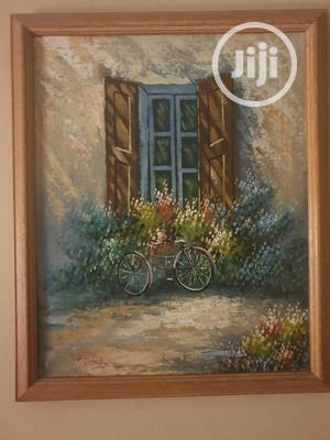 """""""English Cottage""""- Original Painting, Oil On Canvas 