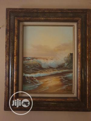 """""""Seashore"""" Original Painting, Oil On Canvas, Fresh From UK... 