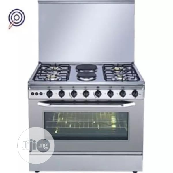 Restpoint Standing Gas Cooker - 4 Gas +2 Electric Rc-92gf
