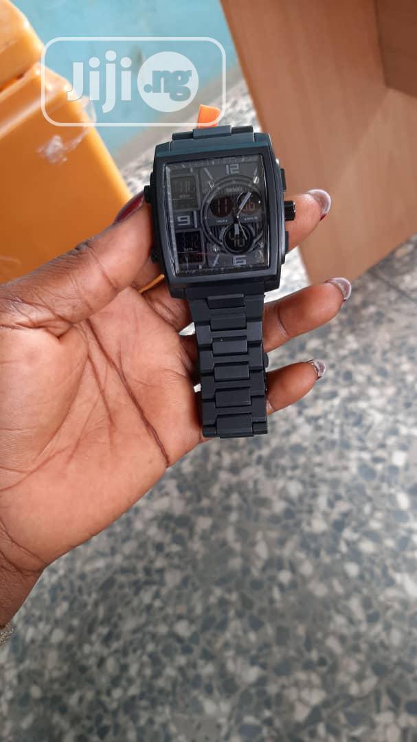 Skmei Rectangular Watch | Watches for sale in Ikorodu, Lagos State, Nigeria
