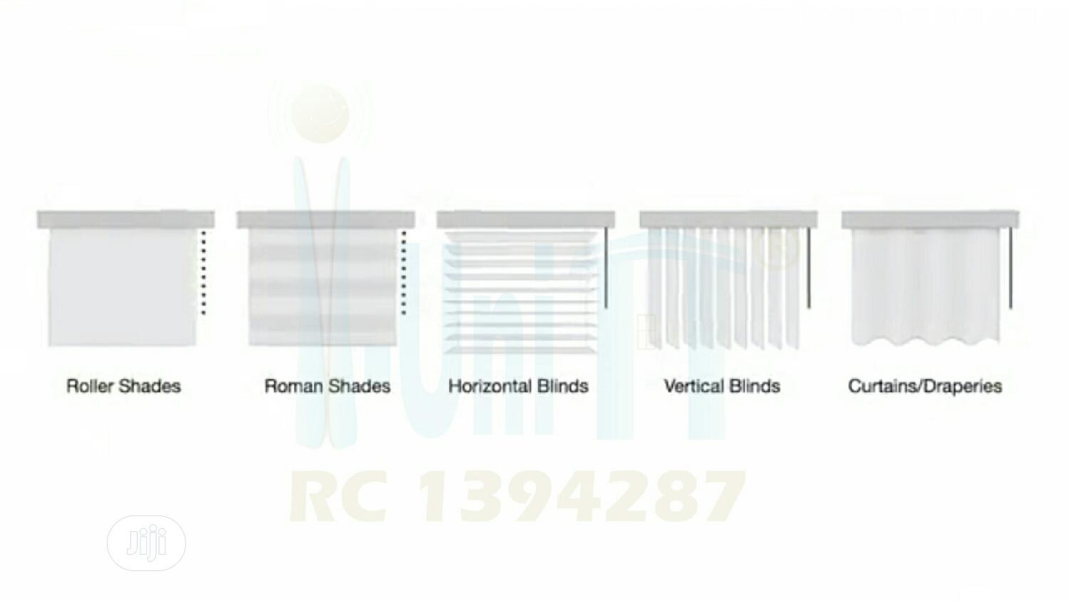 Automatic Motorized Remote Controlled Window Blind / Curtain | Home Accessories for sale in Victoria Island, Lagos State, Nigeria