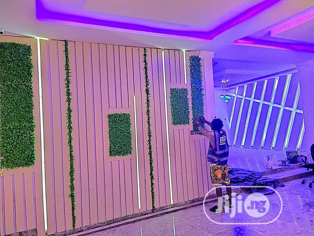 Archive: POP Ceiling, P.O.P Wall Screeding, TV Stand