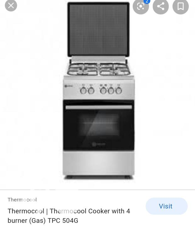 Standing Gas Cooker