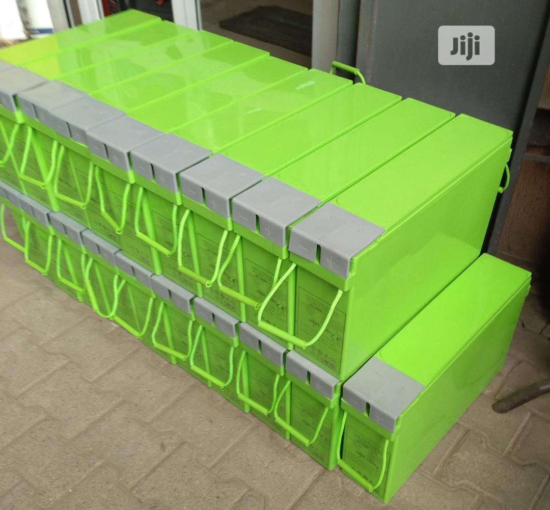 Monbat European Standard 12V/200ah Slim Inverter Battery