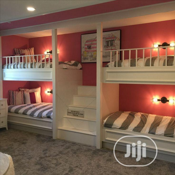 Lovely Kids Double Bunk Bed