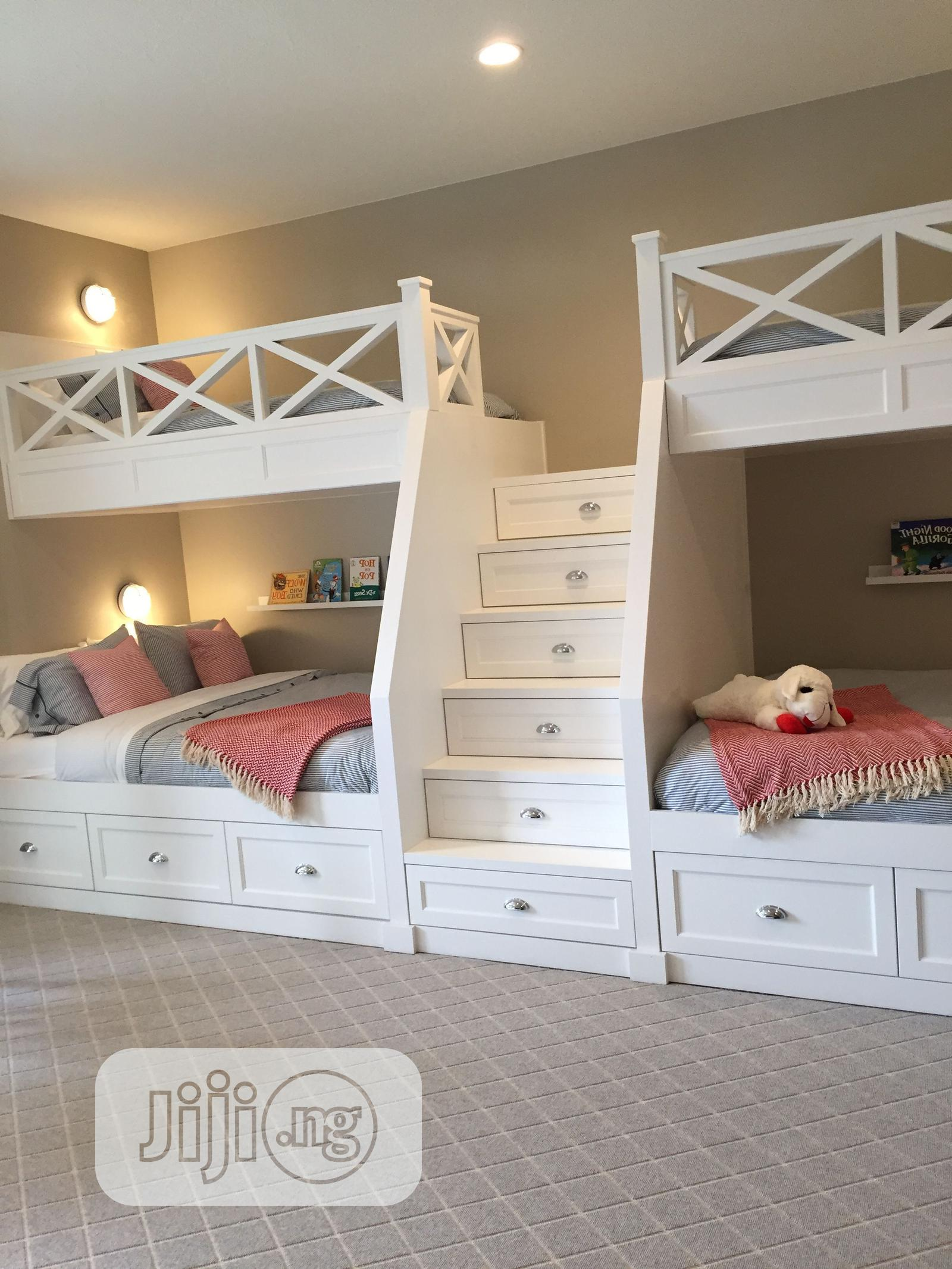 Lovely Kids Double Bunk Bed | Children's Furniture for sale in Ipaja, Lagos State, Nigeria