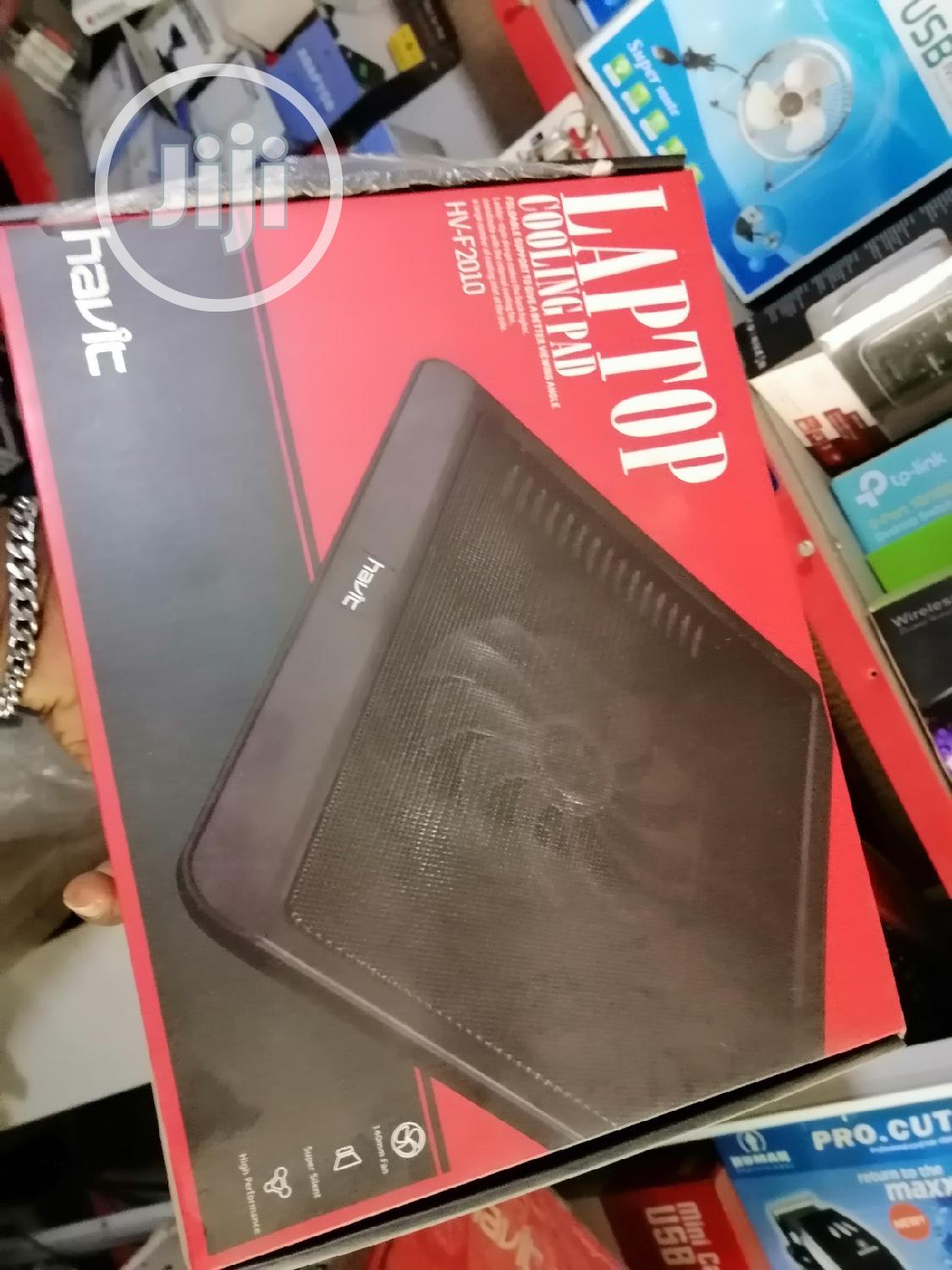 Havit Laptop Cooling Pad HV-F2010 | Computer Accessories  for sale in Ikeja, Lagos State, Nigeria