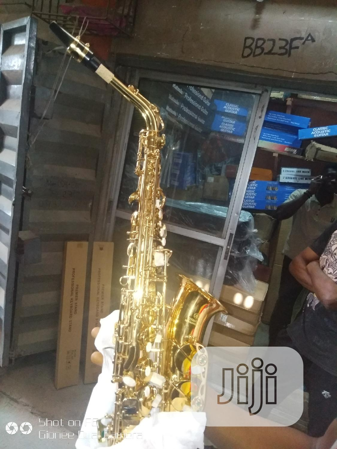 Alto Saxophone (Yamaha) | Musical Instruments & Gear for sale in Ojo, Lagos State, Nigeria