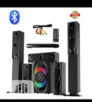 Bluetooth Home Theatre System Emgold Spec: 5.1 Speaker, Long   Audio & Music Equipment for sale in Lagos State, Yaba
