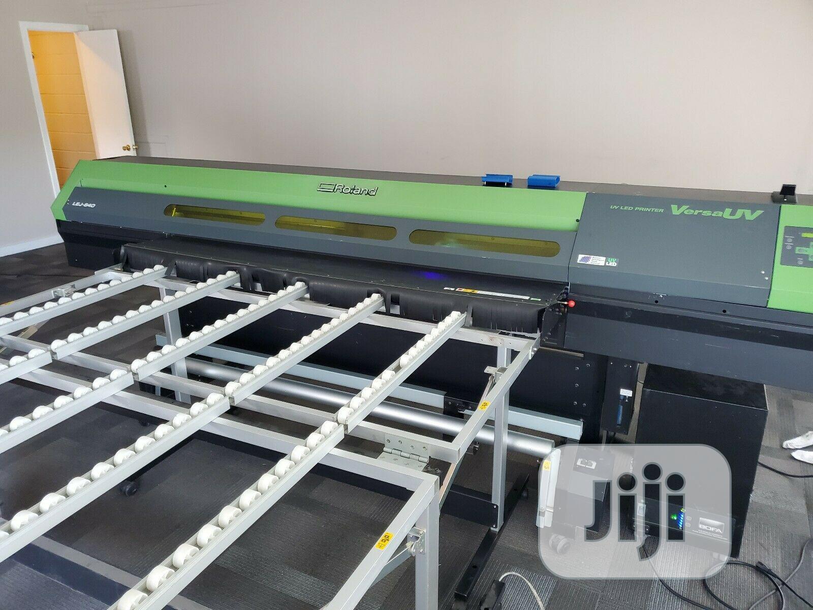 Roland UV Printer | Printing Equipment for sale in Ikeja, Lagos State, Nigeria