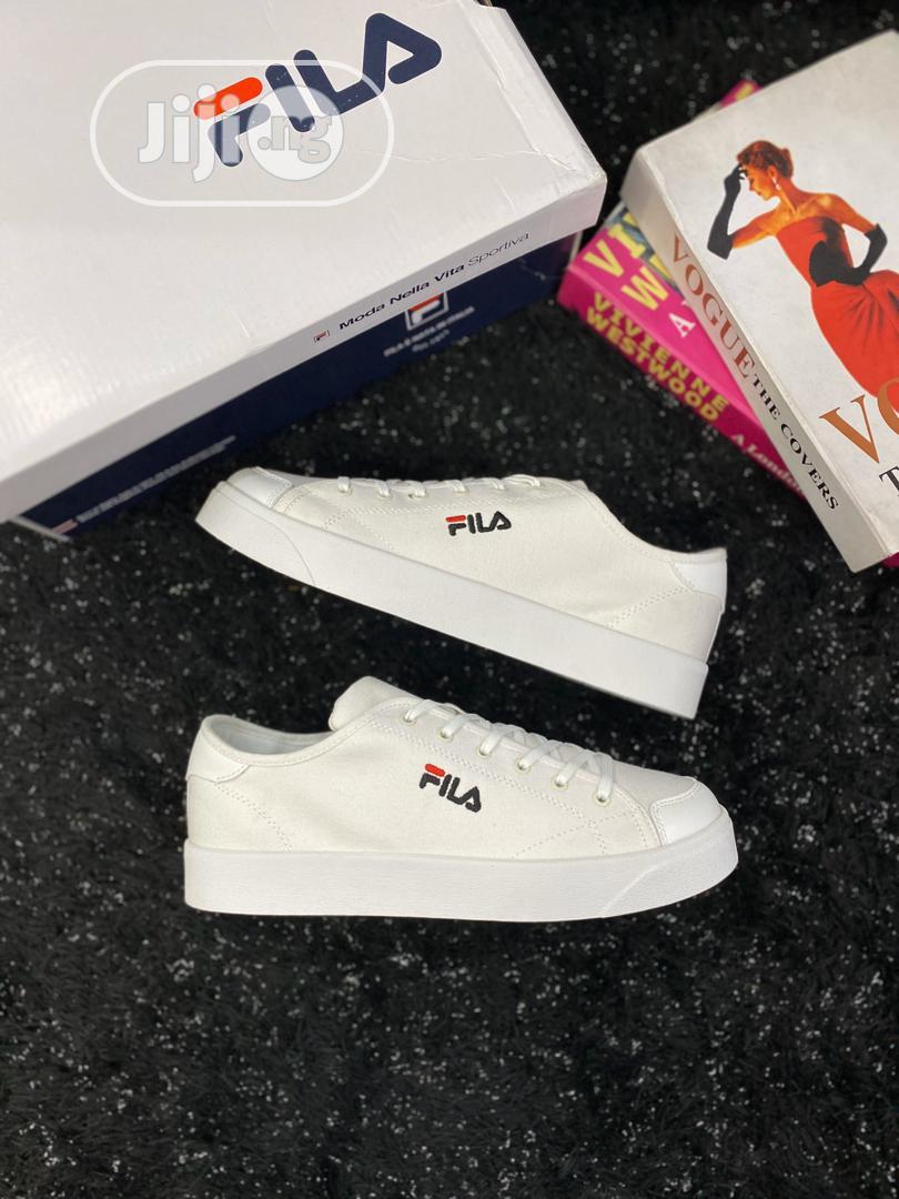Fila Canvas Shoe | Shoes for sale in Lagos Island (Eko), Lagos State, Nigeria