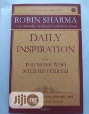Daily Inspiration From The Monk Who Sold His Ferrari By Robin Sharma | Books & Games for sale in Lagos State, Ikeja
