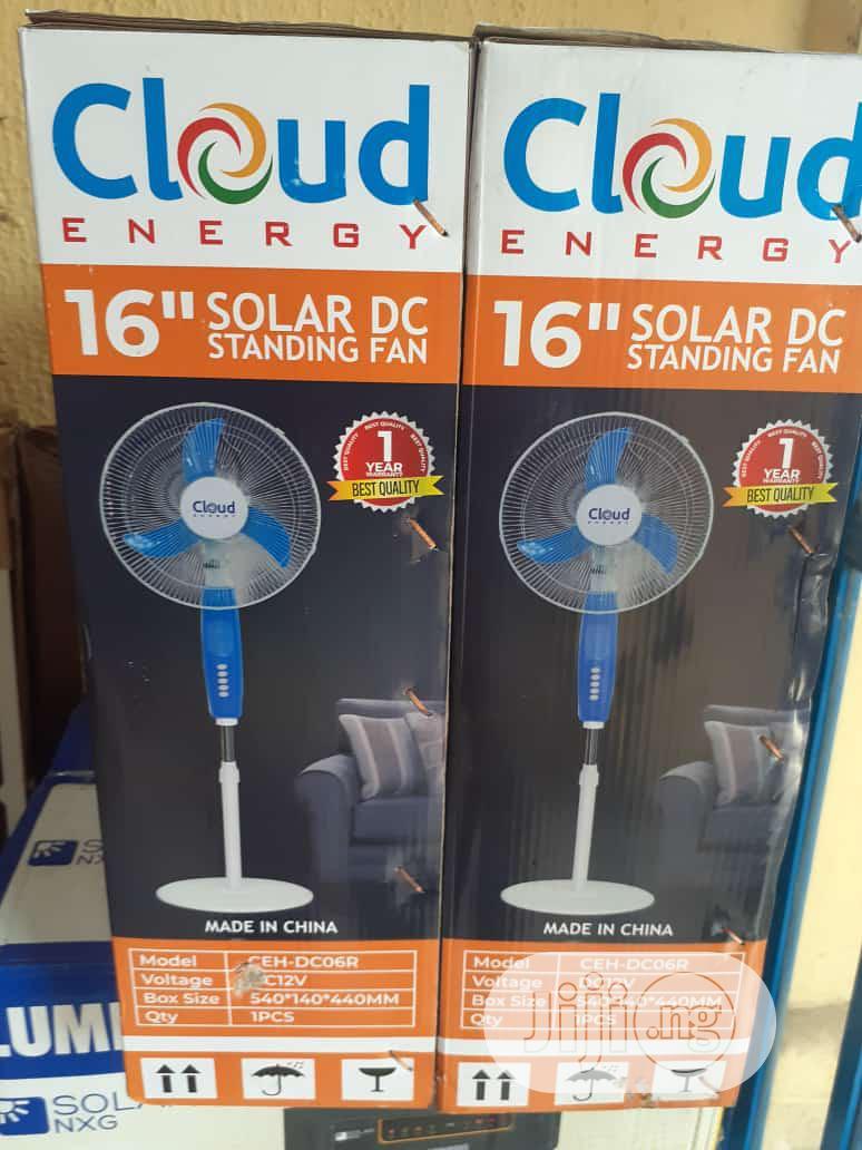 16 Inches DC Solar Fan