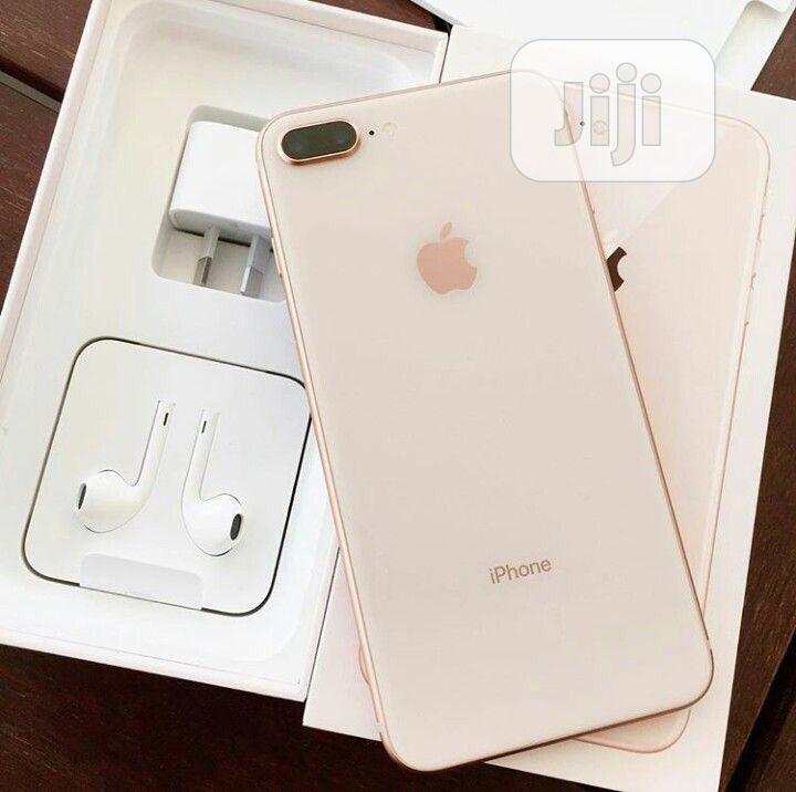 New Apple iPhone 8 Plus 256 GB Gold