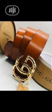 Gucci Pure Leather Belt Original | Clothing Accessories for sale in Lagos State, Surulere