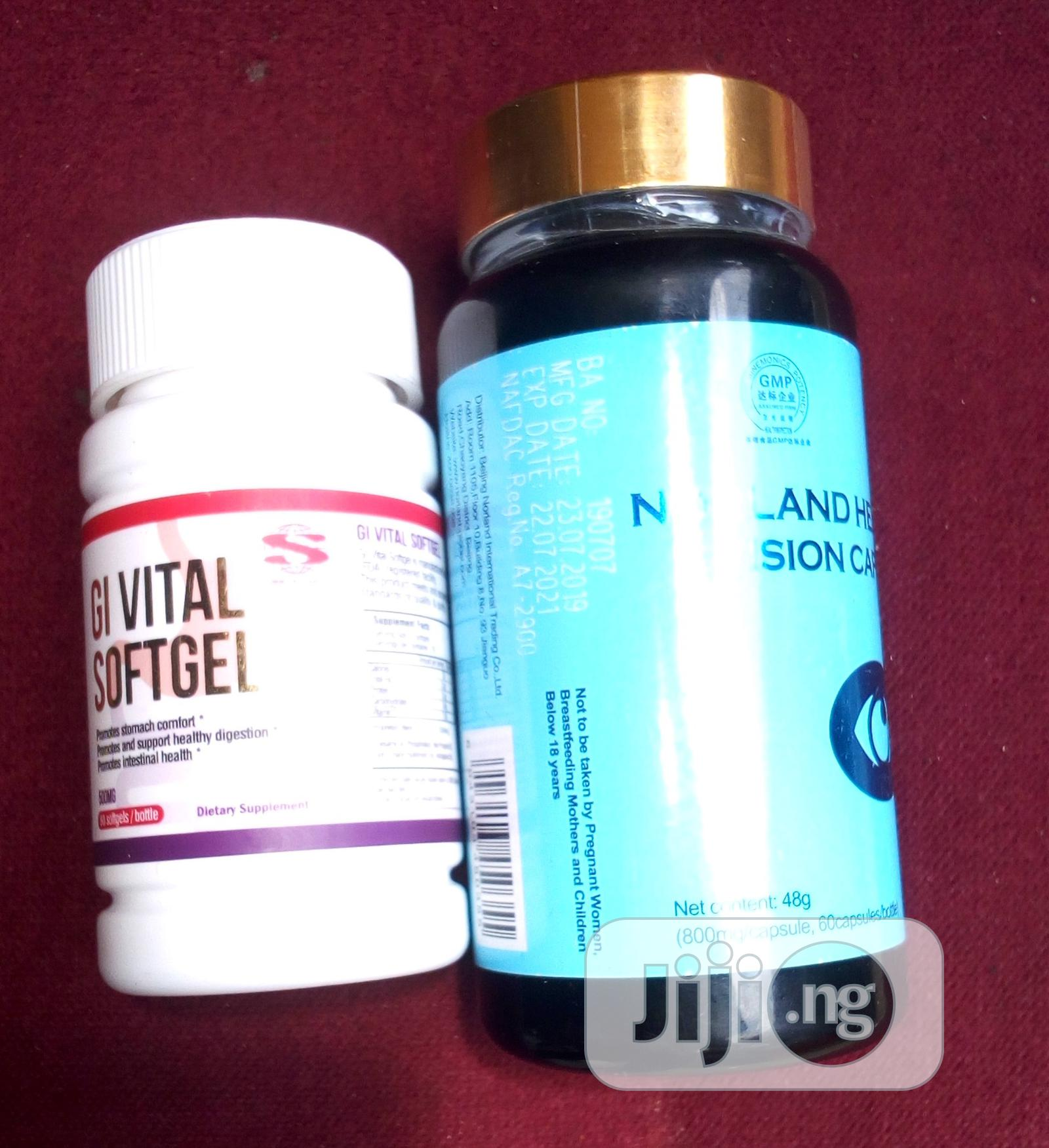 Vision Vitale and Norland Gi Vital Softgel