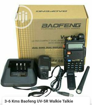 Baofeng UV-5R Dual Band Walkie Talkie | Audio & Music Equipment for sale in Lagos State, Ikeja