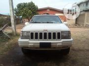 Jeep Grand Cherokee 1999 Limited 4.0 4x4 White | Cars for sale in Ogun State, Abeokuta South
