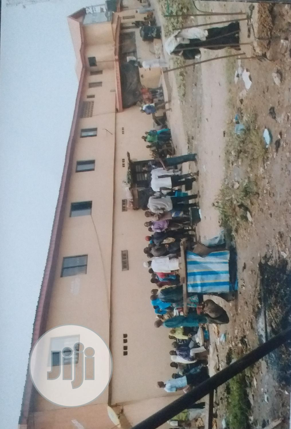 A Shopping Plaza With 18 Shops And A Foundation At The Back | Commercial Property For Rent for sale in Obafemi-Owode, Ogun State, Nigeria