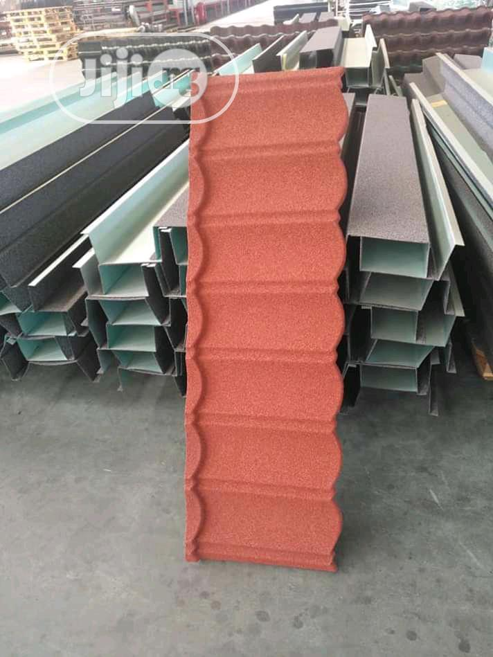 Most Reliable Wine Bond Stone Coated Roofing Sheet