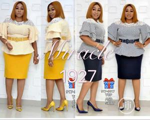 New Coperate Women Skirt Blouse   Clothing for sale in Lagos State, Ikeja