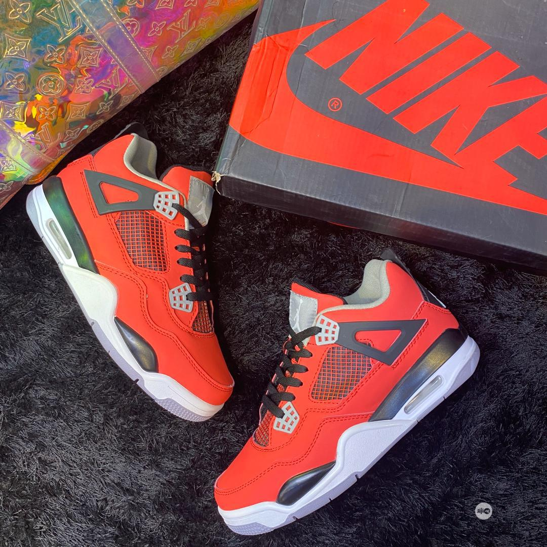 Air JORDAN 4 Retro Royalty Toro Bravo | Shoes for sale in Lagos Island, Lagos State, Nigeria