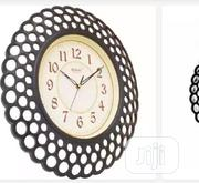 Rikon Wall Clock for Homes and Offices - Dark Brown | Home Accessories for sale in Abuja (FCT) State, Kubwa