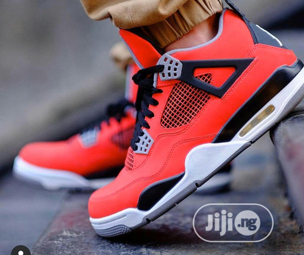"Air Jordan 4 Retro Royalty ""Toro Bravo | Shoes for sale in Ikeja, Lagos State, Nigeria"