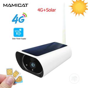 CCTV Solar 4G Surveillance Built-in Rechargeable Battery Camera   Security & Surveillance for sale in Lagos State, Ikoyi